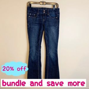 American Eagle Bootcut Jeans Size 0